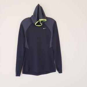 Nike Running Hoody Sweatshirt Black Large